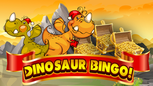 Amazing World of Tiny Lucky Dino-saur Monster Party Bingo Casino Blitz Games Free