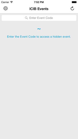 ICIB Events App