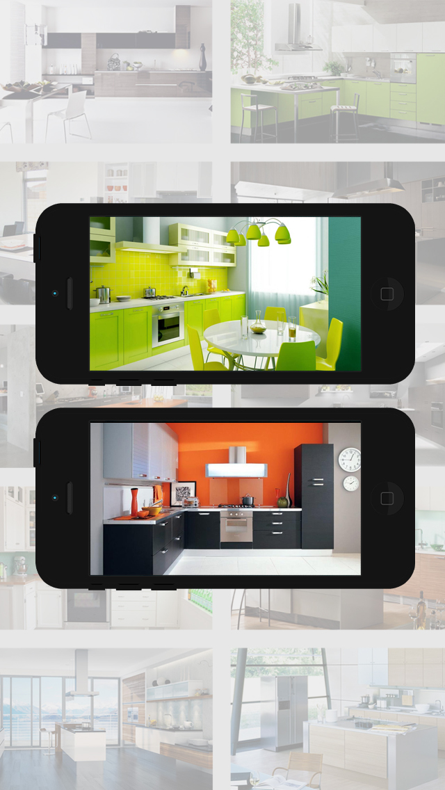 App shopper kitchen design ideas hd picture gallery for Kitchen ideas app