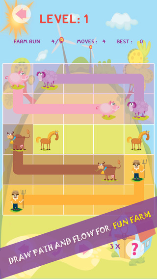 Anime Shades of Fun Farm Valley - Simple Puzzle Flow Free