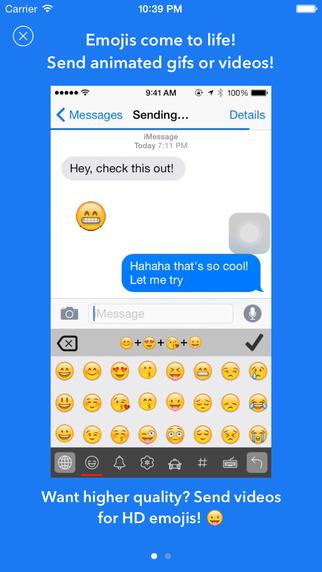 Emojimation — Animated Emoji Keyboard