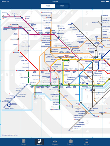 London Offline Map - City Metro Airport & Travel Route Planner Screenshots