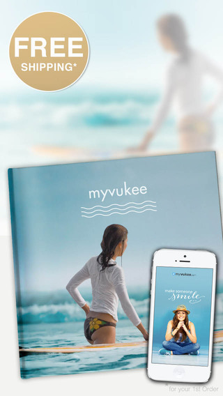 PhotoBook™ Premium - Make a photo book in 2 minutes create print order and send with myvukee