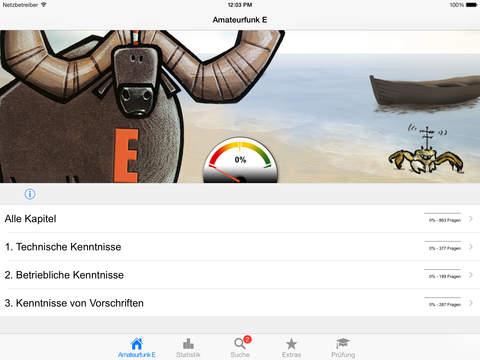 Amateurfunk - Klasse E iPad Screenshot 2