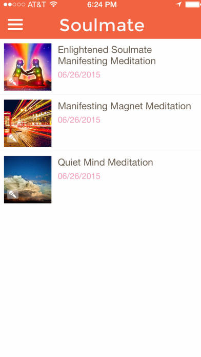 Guided Manifesting Meditation for Attracting an Enlightened Loving Soul Mate-by Jafree Ozwald iPhone Screenshot 2