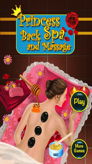 Princess Back Spa and Massage - Crazy beauty salon full body massage game