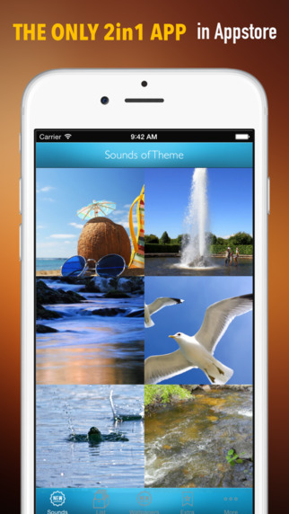 Ocean and Waves Sounds Ringtones and Wallpapers: Theme your Phone with Sea