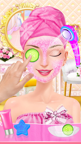 My Wedding Day - Sweet Bride SPA Center: Dress Hair and Makeup Salon Game