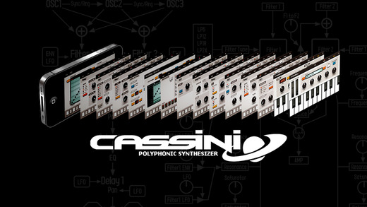 CASSINI Synthesizer for iPhone Screenshots