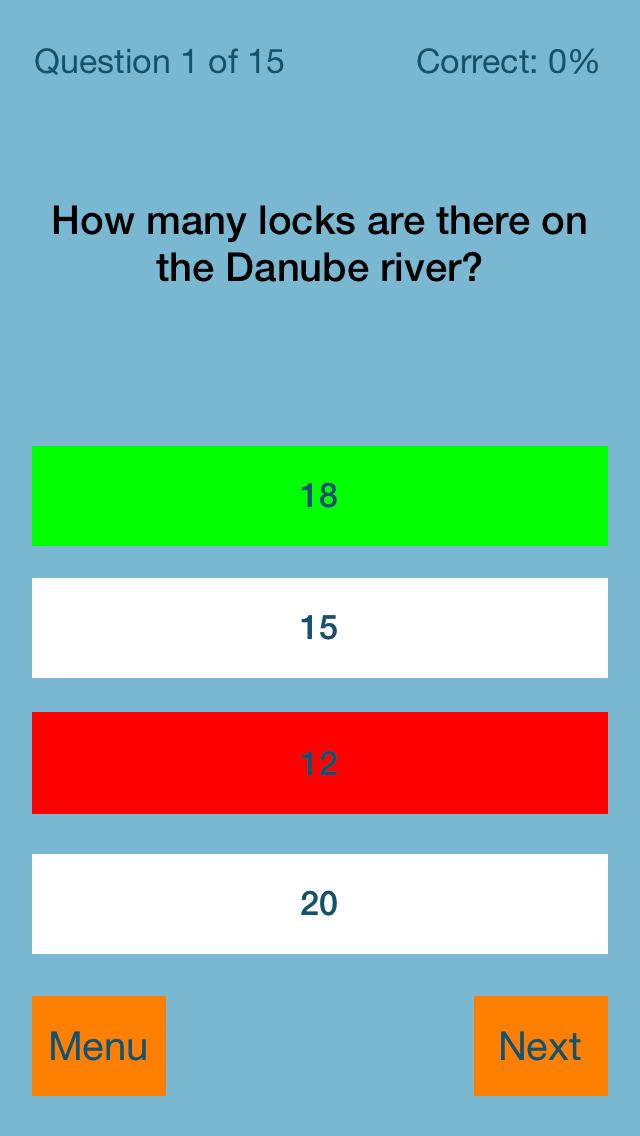 Waterways Quiz