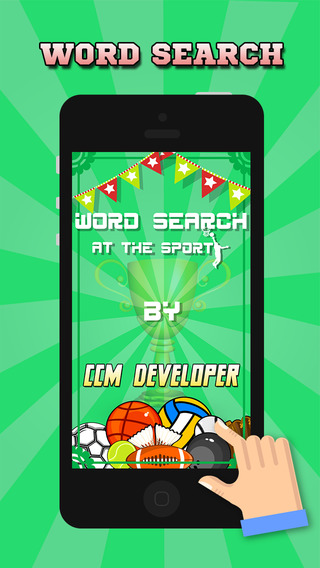 """Word Search At The Sports – """"Super Classic Wordsearch Puzzle Games"""""""