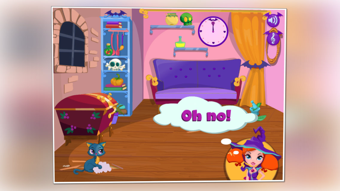 app shopper halloween house makeover games