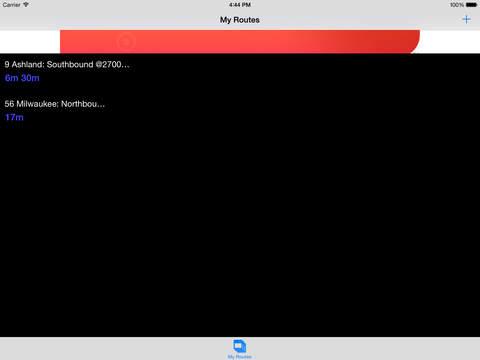 Chicago Transit Tracker iPad Screenshot 1