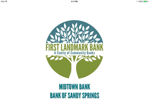 First Landmark Mobile Banking for iPad