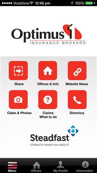 Optimus 1 Insurance Brokerapp