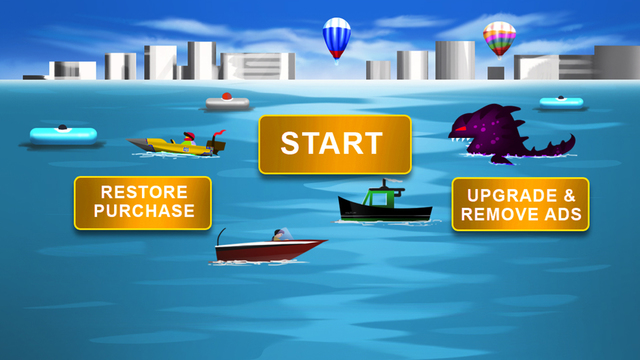 Speedboat Hunter - City Boat Wave Racing