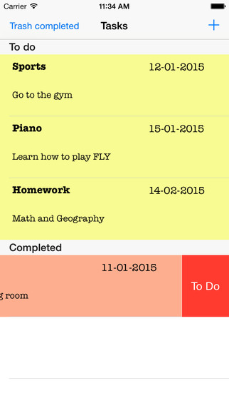 Simplest Task Manager