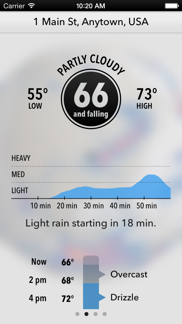 Dark Sky - Hyperlocal Weather, Radar, and Storm Alerts