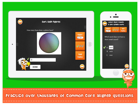 iTooch 2nd Grade | Math and Language Arts Screenshots