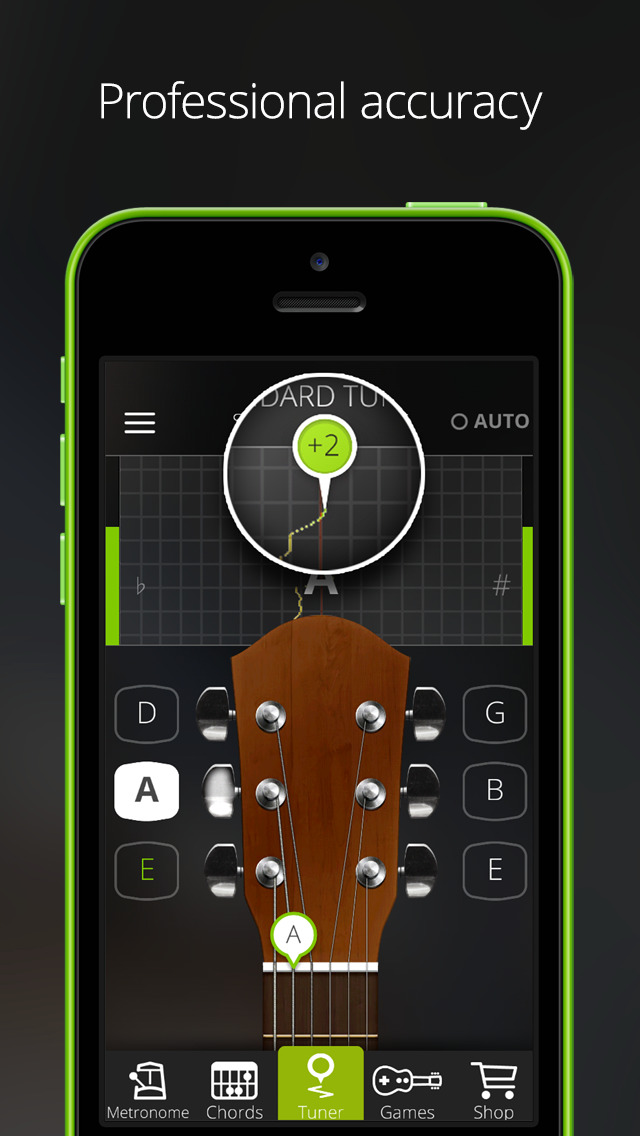 Download Guitar Tuna The Ultimate Free Tuner For Guitar Bass And