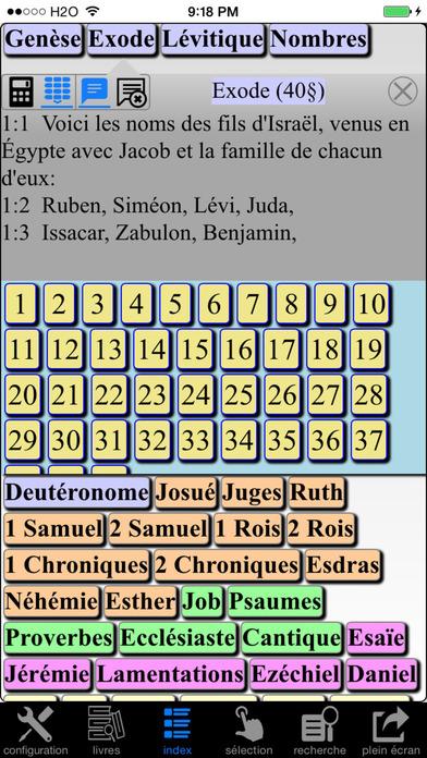 La Bible(Louis Segond 1910) French Bible iPhone Screenshot 4