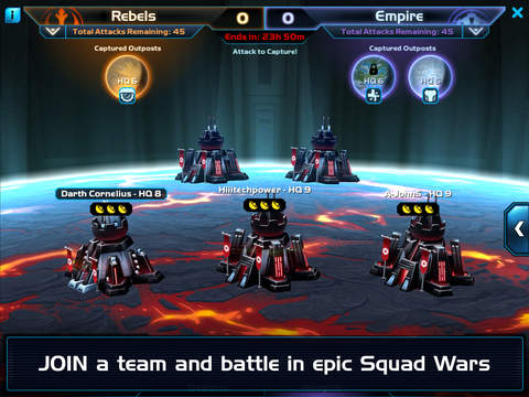 Star Wars™: Commander - Squad Wars Screenshots