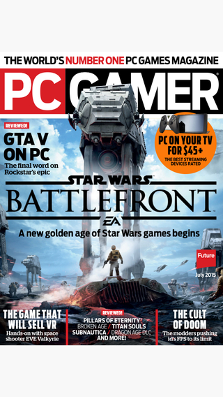 PC Gamer US : the world's number one PC gaming magazine