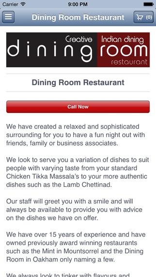Dining Room Restaurant