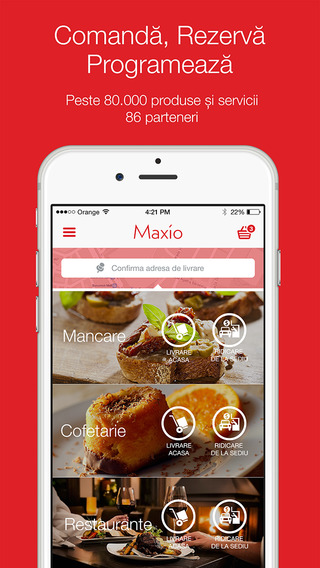 Maxio - Comenzi Rezervari Programari