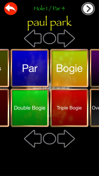 Betting Golf Score with Voice