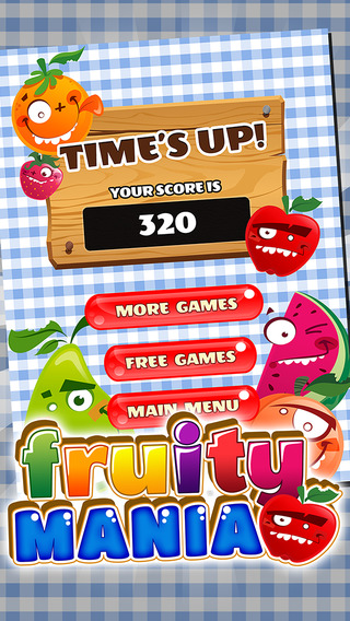 Fruity Match Up Mania - A Cool Puzzle Link Crush Challenge
