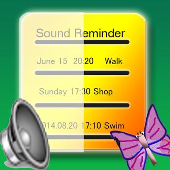 工具App Sound Reminder LOGO-3C達人阿輝的APP