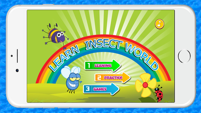 Learning English Insect World Education for Kids