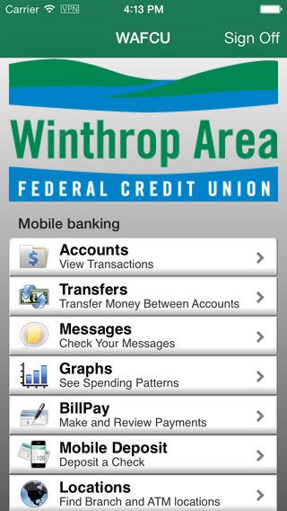 Winthrop Area FCU Mobile Banking