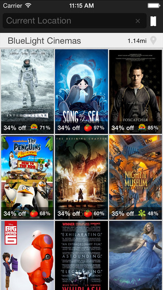 Dealflicks Movies - Showtimes Tickets Deals Coupons and Discounts for Local Theaters