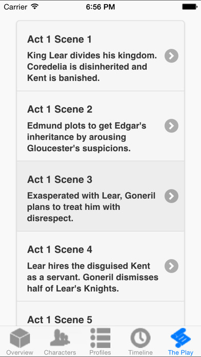 King Lear Full Audio iPhone Screenshot 3