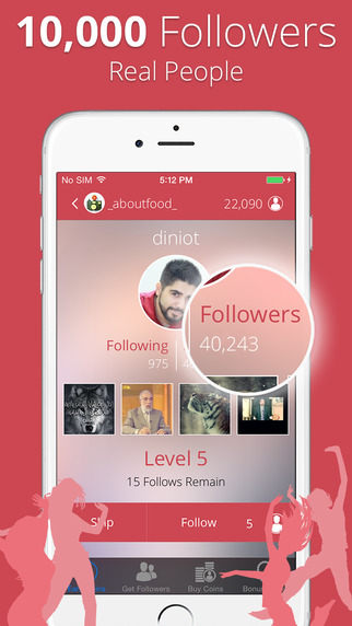InstaFollow - Get 5000 More Followers on Instagram