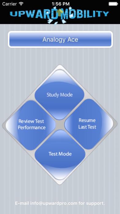 Analogies Ace - GRE Prep iPhone Screenshot 1