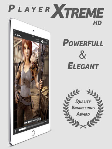 Screenshot 1 PlayerXtreme Media Player - The best player of movies,  videos,  music & streaming