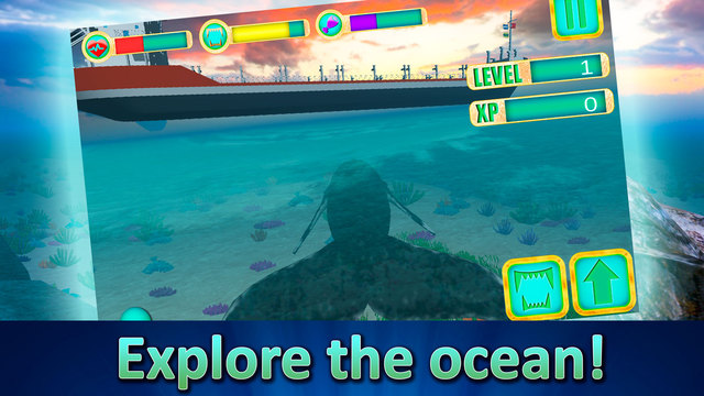 Ocean Whale Simulator 3D Screenshots