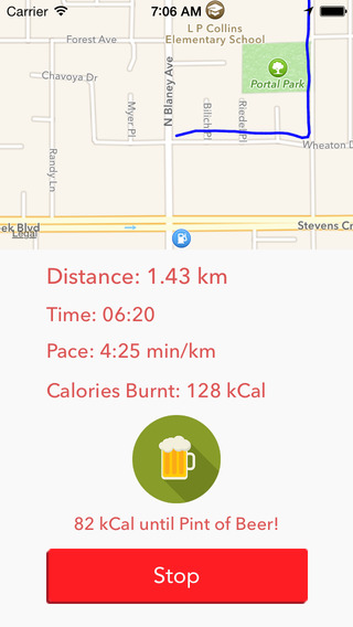 Fit - Track Your Walk Run Activity And Burn Calories