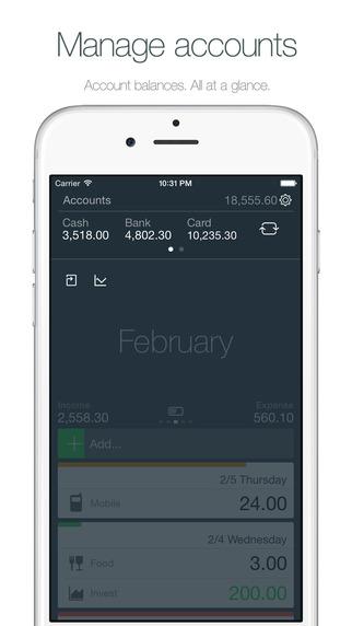 Money - Track your money easily. Screenshots