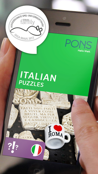 Italian Puzzles – play and learn with PONS