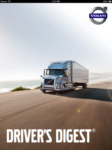 ipad Drivers Digest – Volvo Trucks Magazine Screenshot 0