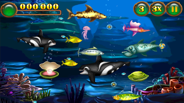 Fish frenzy fish eat fish on the app store on itunes for Fish frenzy game