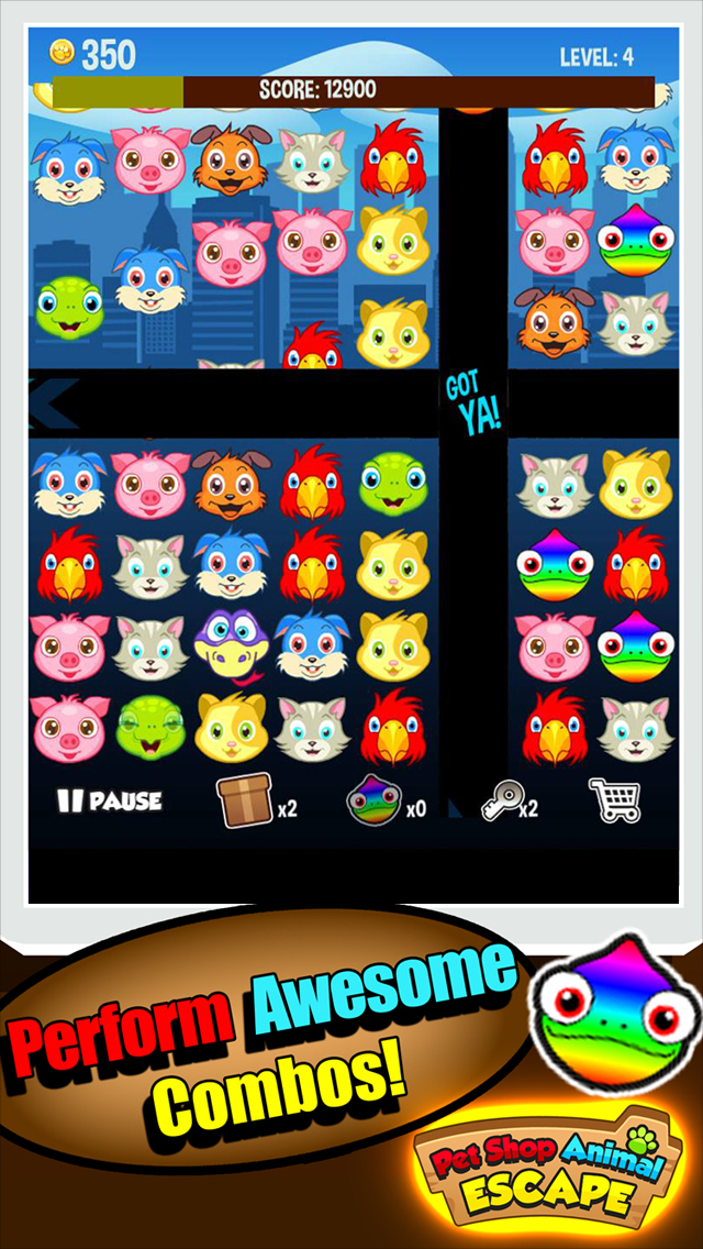 A Tiny Pets Escape - Run From the Pet Shop World Rescue Game