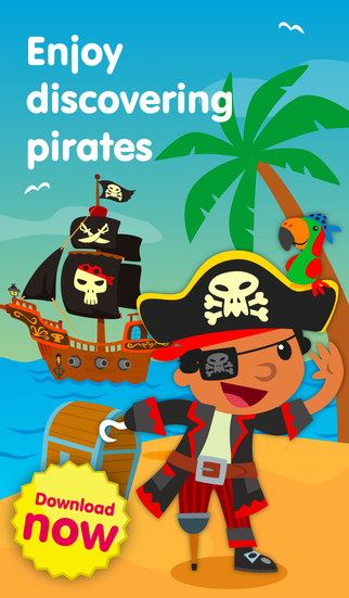 Planet Pirates - Learning Fun Games Puzzles and Dress Up for Kids and Girls in Preschool and Kinderg