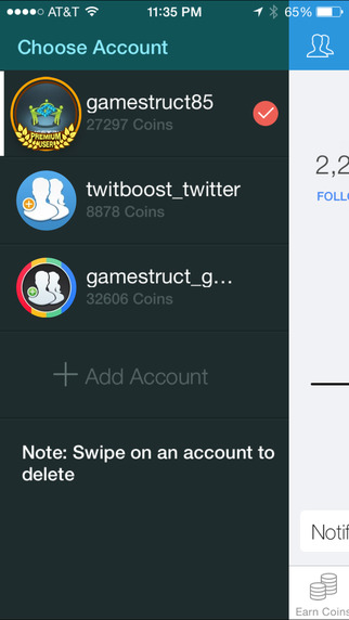 JustFollow Pro - Get Instagram Followers Screenshots