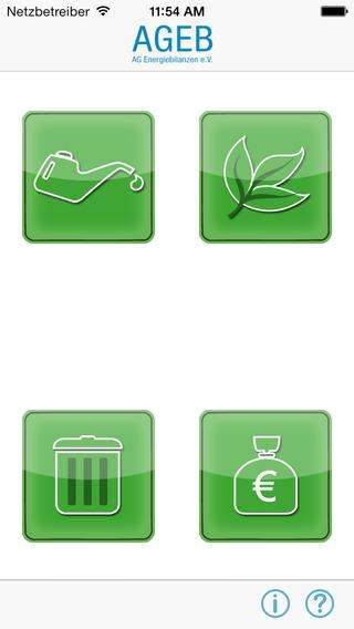 AGEB Energieeinheitenumrechner