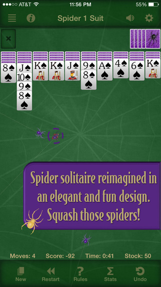 Spider Solitaire Free by Solebon